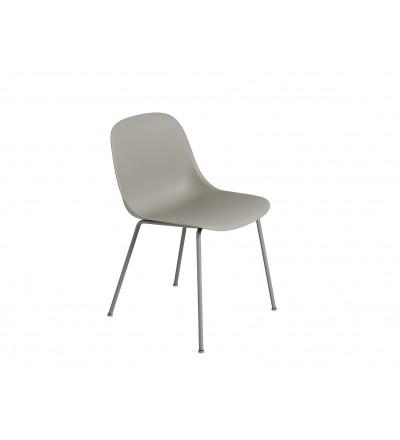 Krzesło Fiber Side Chair Tube Base Muuto - różne kolory