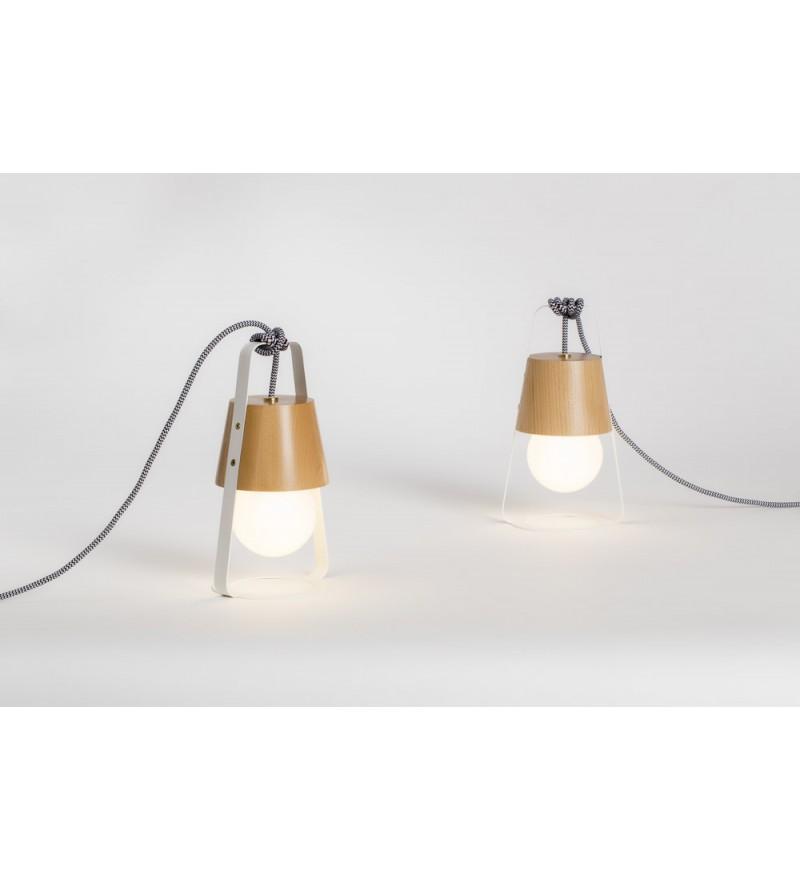 Lampa Latarnia Hop Design - z żarówką