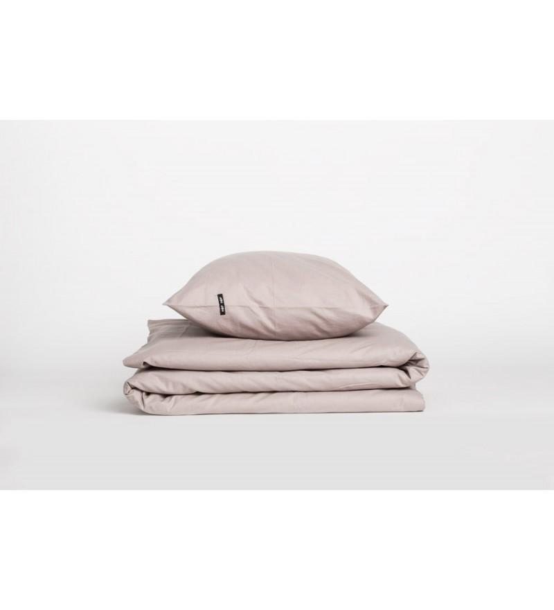 Poszwa na kołdrę Pure HOP DESIGN czysta bawełna płótno bladoróżowe