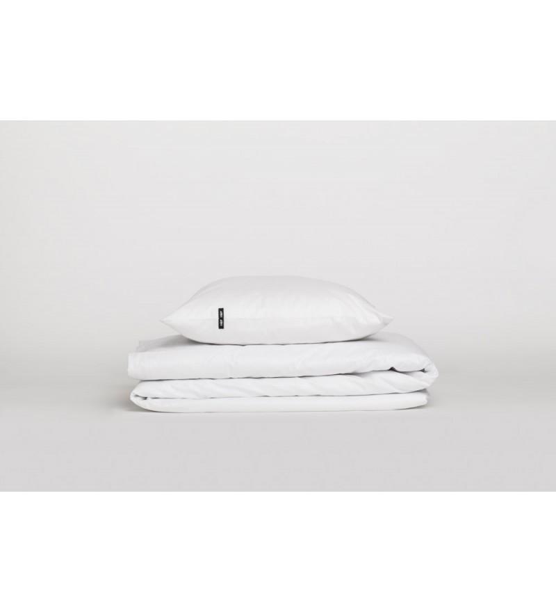 Poszwa na kołdrę Pure HOP DESIGN czysta bawełna płótno białe