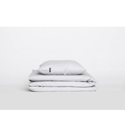Poszwa na kołdrę Pure HOP DESIGN czysta bawełna płótno - jasnoszara
