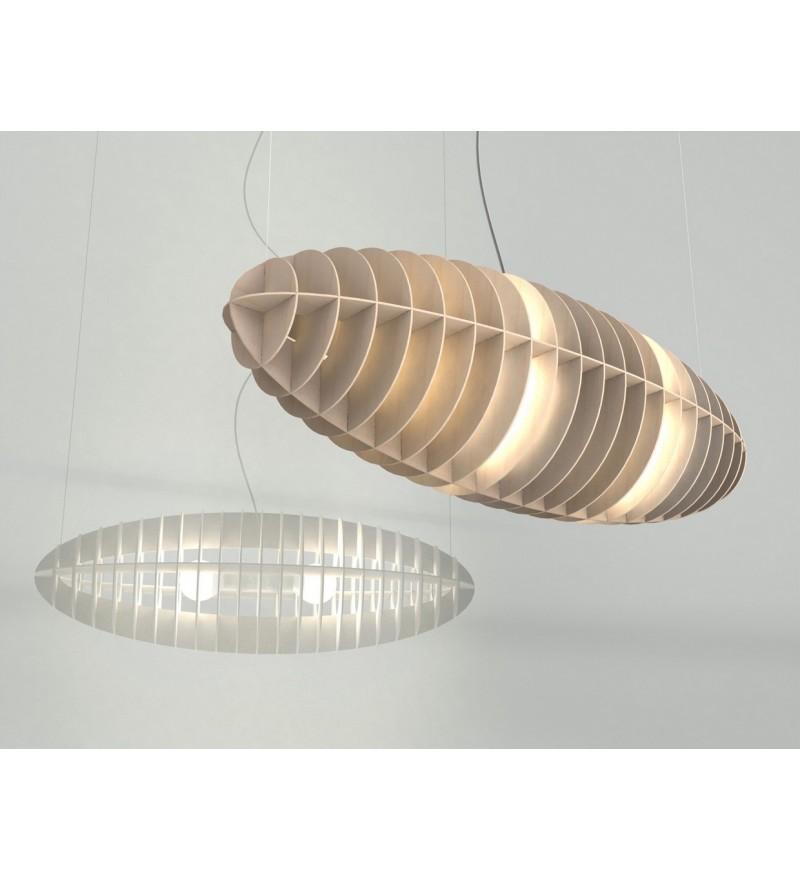 Lampa Zeppelin Sklejka Okrągły TAR Design - 2 wielkości