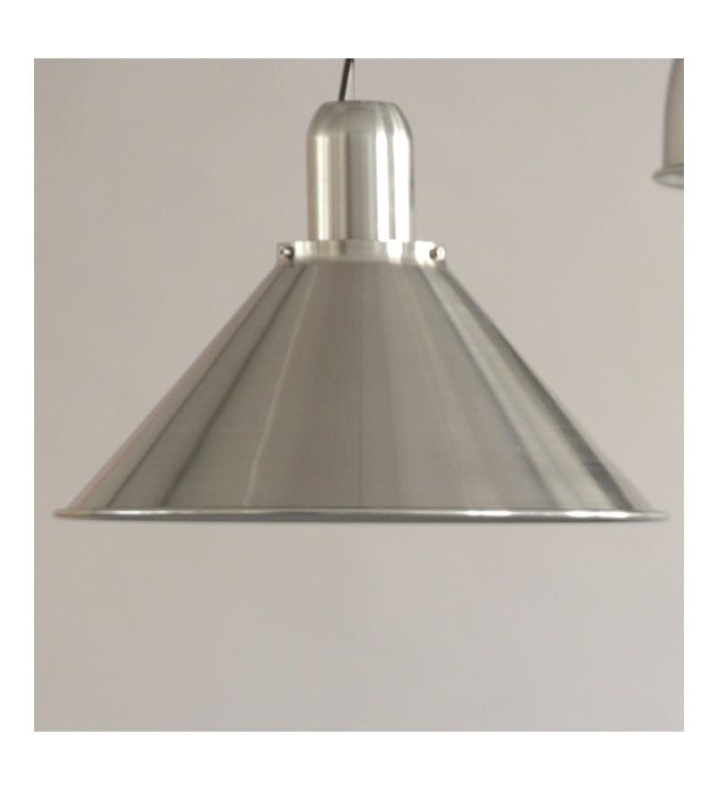 Lampa Reflex Silver Stożek TAR Design - srebrna
