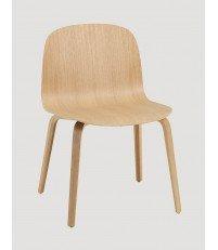 Krzesło drewniane VISU Wide Chair Muuto - różne kolory