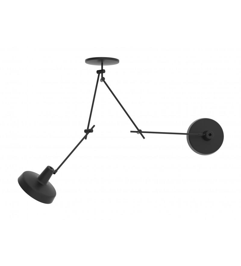 Lampa sufitowa ARIGATO CEILING 2 - czarna