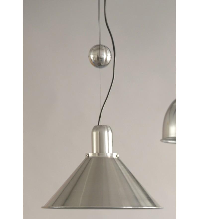 Lampa Reflex Silver Stożek z obciążnikiem kulowym TAR Design - srebrna