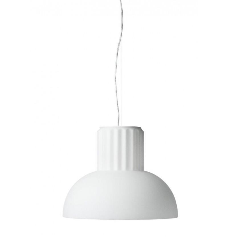 Lampa wisząca The Standard Menu - mleczne matowe szkło, średnica 24 cm