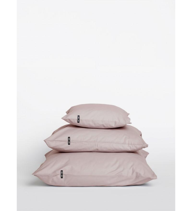 2x poszewka na poduszkę Pure HOP DESIGN czysta bawełna płótno bladoróżowe