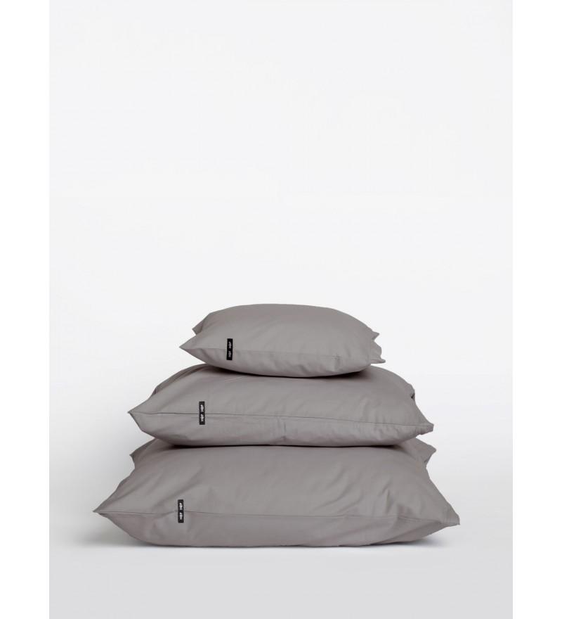2x poszewka na poduszkę Pure HOP DESIGN czysta bawełna płótno ciemnoszare