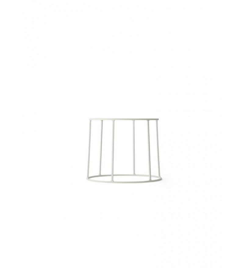 Podstawa druciana do kwietnika Wire 202 Menu - biała