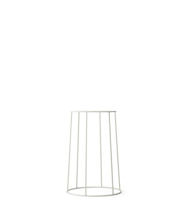 Podstawa druciana do kwietnika Wire 404 Menu - biała