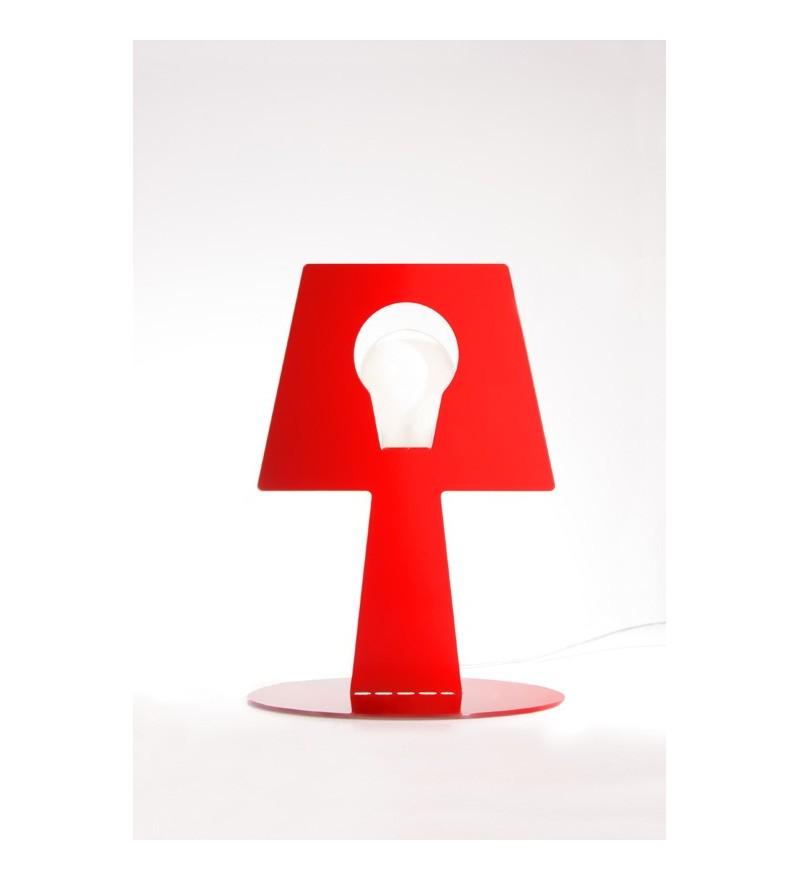 Lampa stojąca Bendino - czerwona