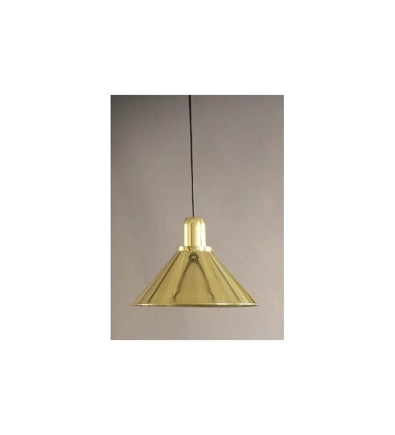 Lampa Reflex Gold Stożek TAR Design - złota