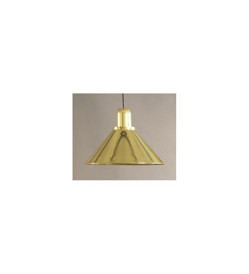 Lampa Reflex Gold Stożek z obciążnikiem kulowym TAR Design - złota