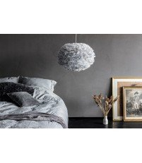 Lampa z piór Eos Large Light Grey Vita Copenhagen - jasnoszara