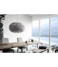 Lampa z piór Eos XL Light Grey Vita Copenhagen - jasnoszara