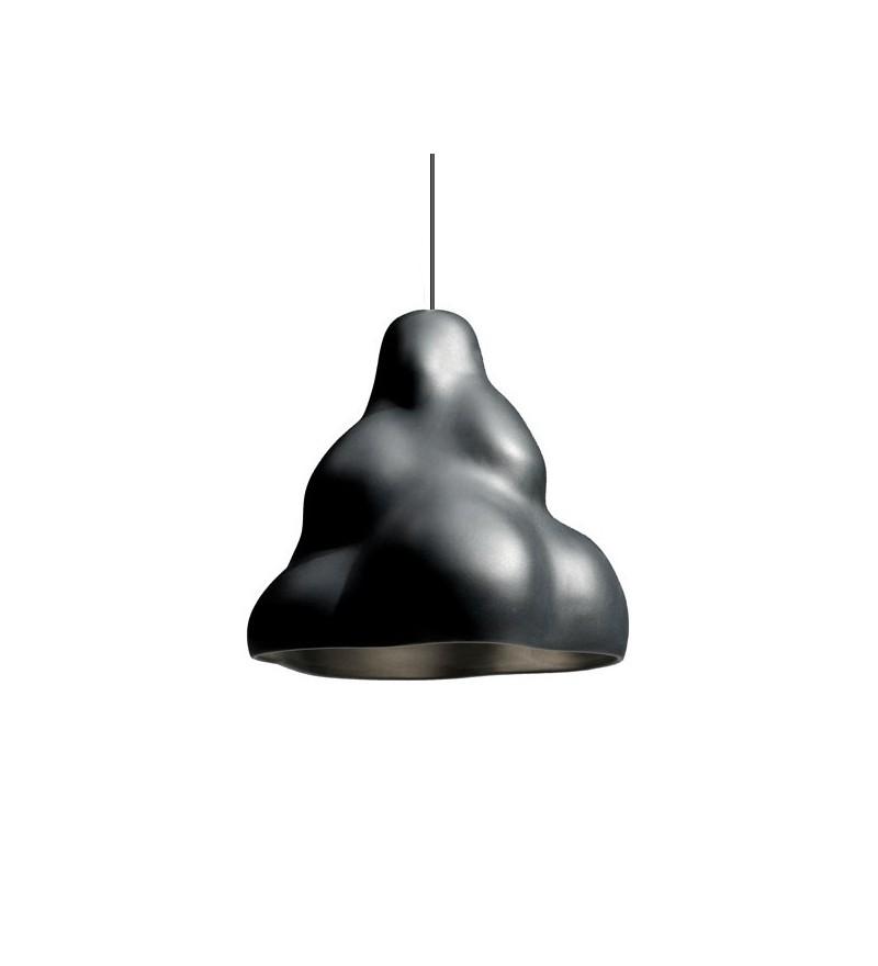 Lampa wisząca z porcelany Clouds Industreal Design - czarna