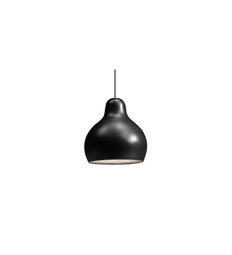 Lampa wisząca z porcelany 300dpi Industreal Design - czarna