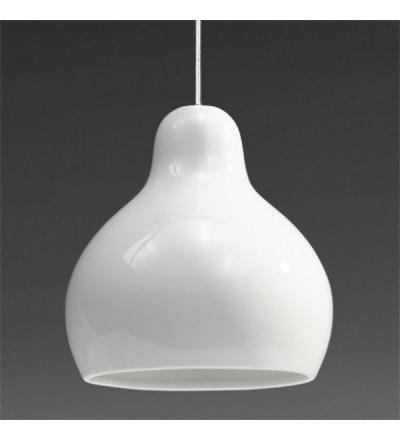 Lampa wisząca z porcelany 300dpi Industreal Design - biała