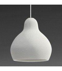 Lampa wisząca z porcelany 144dpi Industreal Design - biała