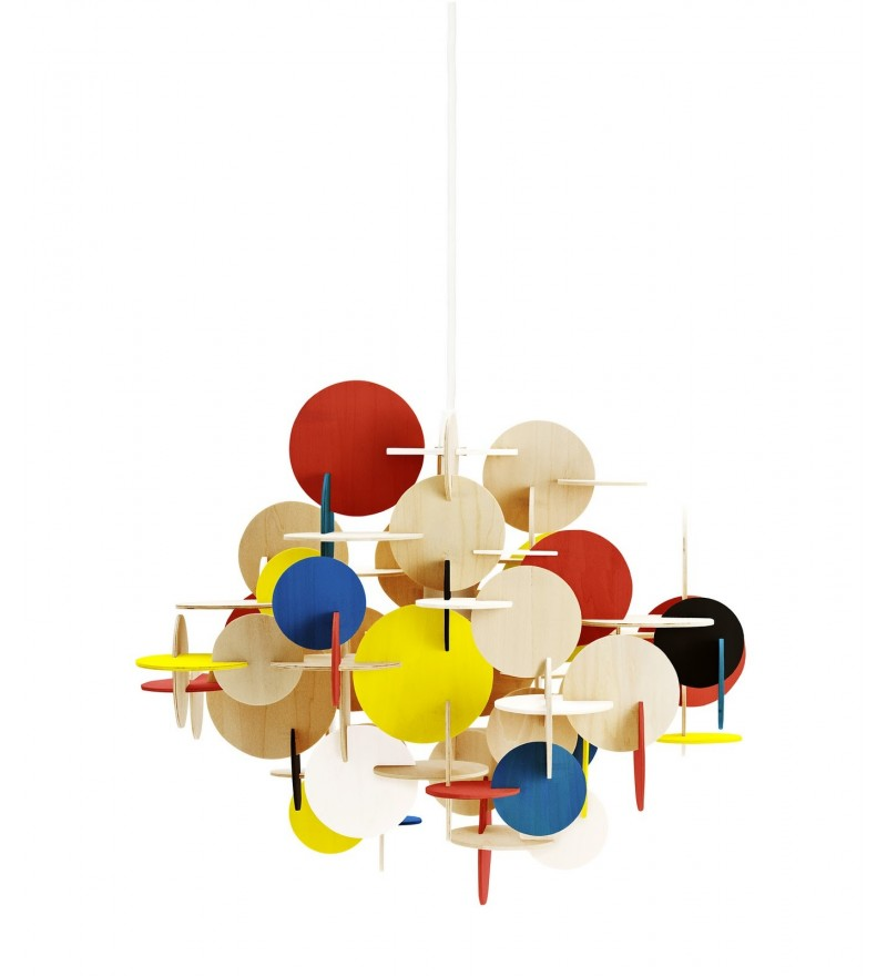Lampa wisząca BAU Multicolor Normann Copenhagen - duża