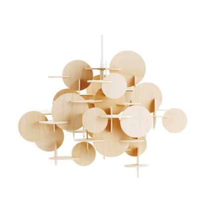 Lampa wisząca BAU Nature od Normann Copenhagen - mała