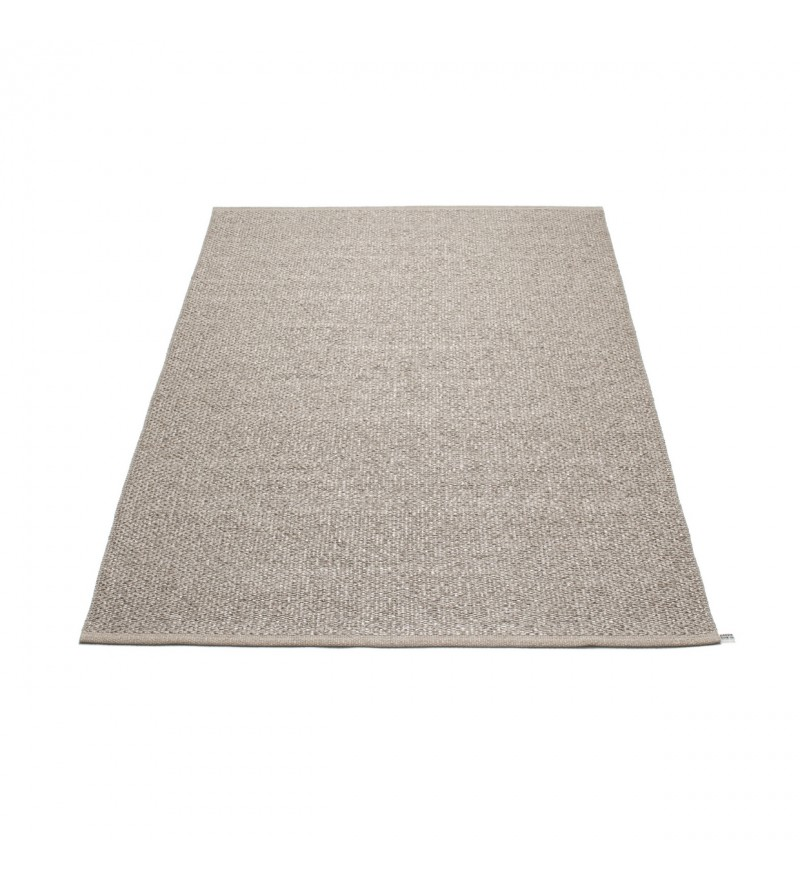 Dywan SVEA Pappelina - mud metallic / mud, różne rozmiary