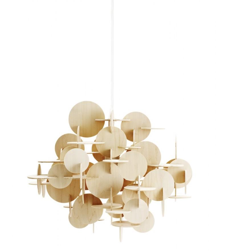 Lampa wisząca BAU Nature od Normann Copenhagen - duża