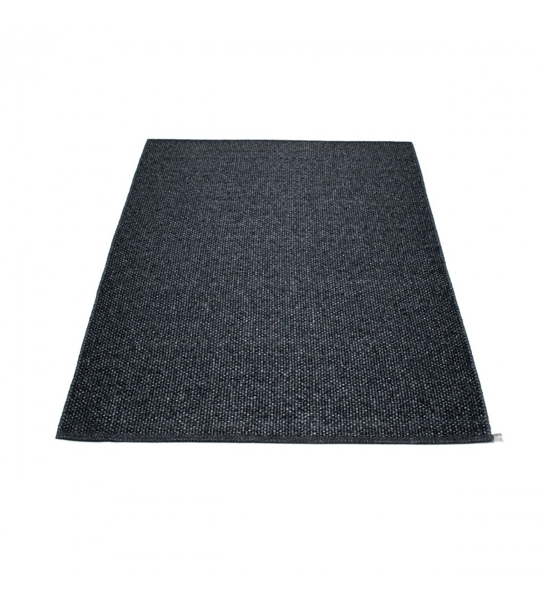 Dywan SVEA Pappelina - black metallic / black, różne rozmiary