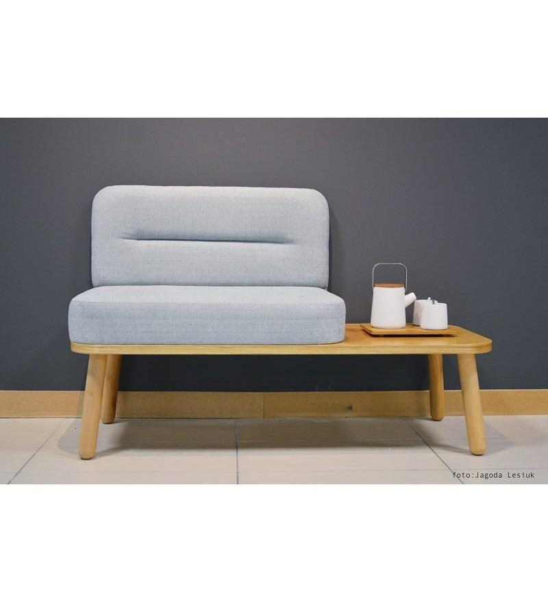 Ławka / siedzisko ze stolikiem NORD Happy Barok