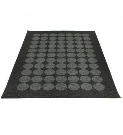 Dywan HUGO Pappelina - black metallic / black