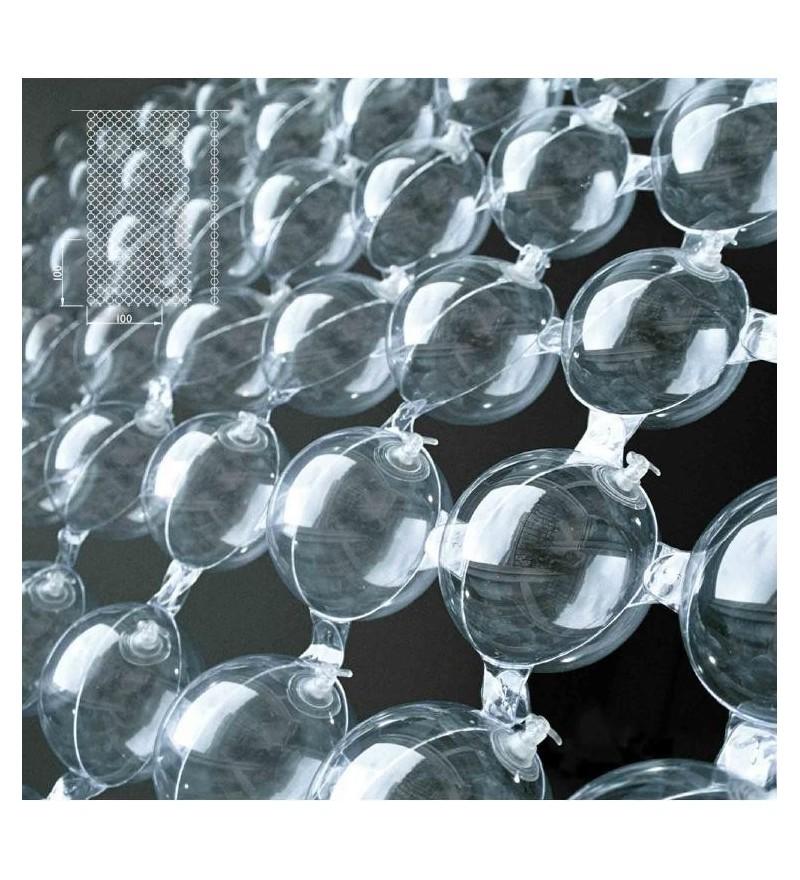 Przesłona świecąca Bubbles PUFF-BUFF Design - moduł 95 x 190 cm