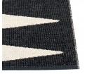 Chodnik VIVI Pappelina - black / vanilla, różne rozmiary