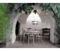 Girlanda świetlna ogrodowa Bella Vista Seletti - czarna z przezroczystymi żarówkami