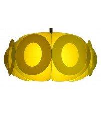 Lampa Oval L - lemonka