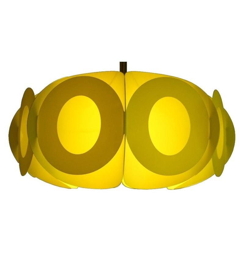 Lampa Oval L Kafti Design - lemonka