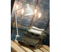 Lampa stołowa DERBY It's about RoMi 20x37cm niebieska