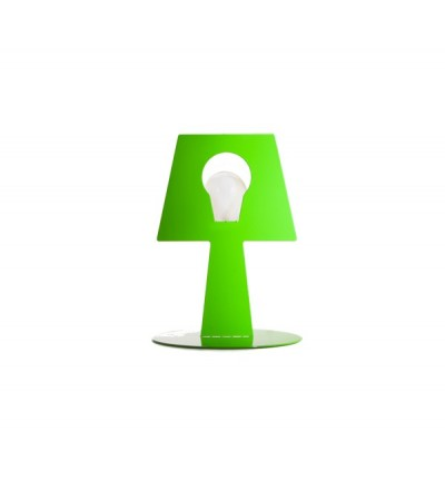 Lampa stojąca Bendino - zielona