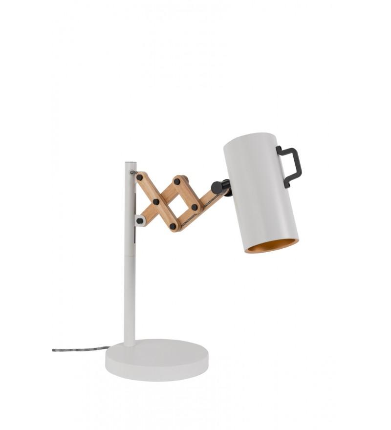 Lampa stołowa FLEX ZUIVER - biała