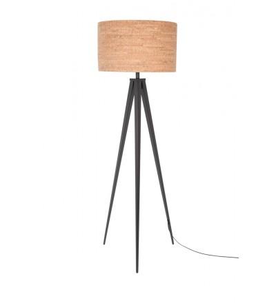 Lampa podłogowa TRIPOD CORK ZUIVER - czarna