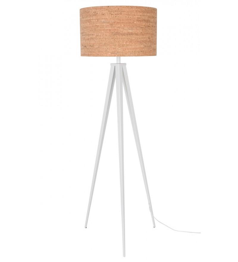 Lampa podłogowa TRIPOD CORK ZUIVER - biała