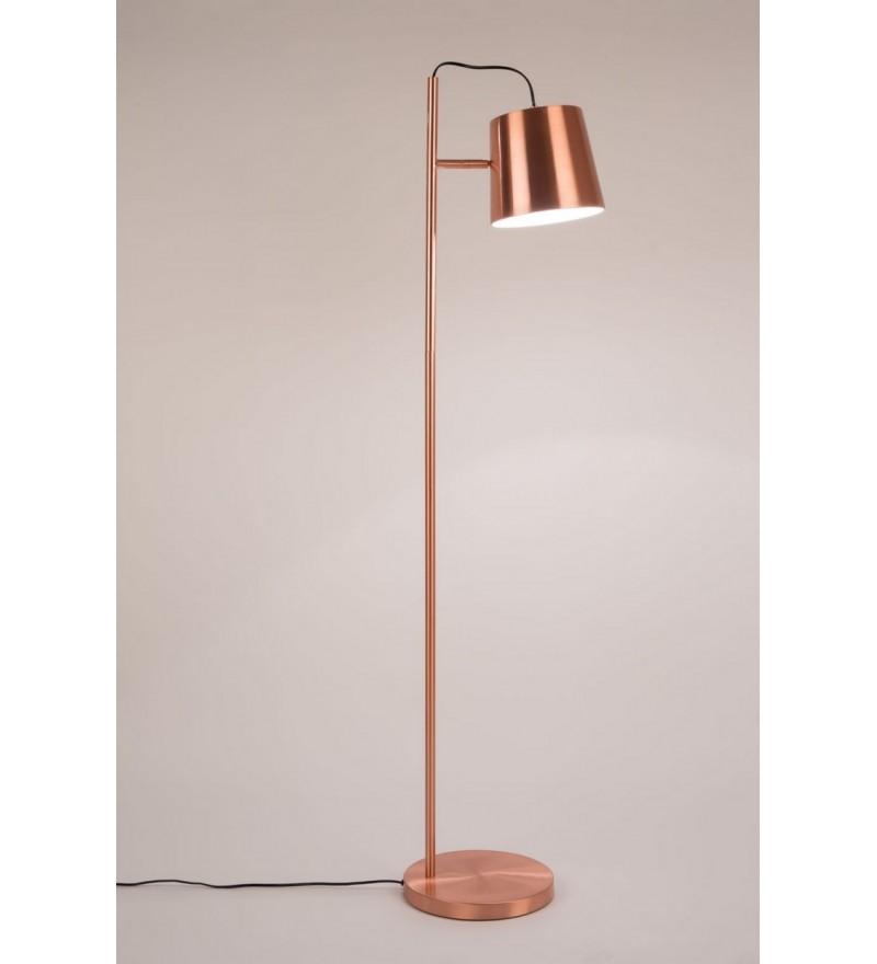 Lampa podłogowa BUCKLE HEAD ZUIVER - miedziana