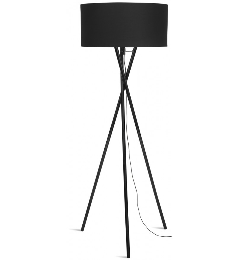 Lampa podłogowa Hampton It's About RoMi - czarna