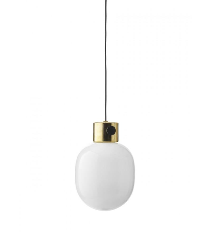 Lampa wisząca z lustrzanego mosiądzu JWDA Menu