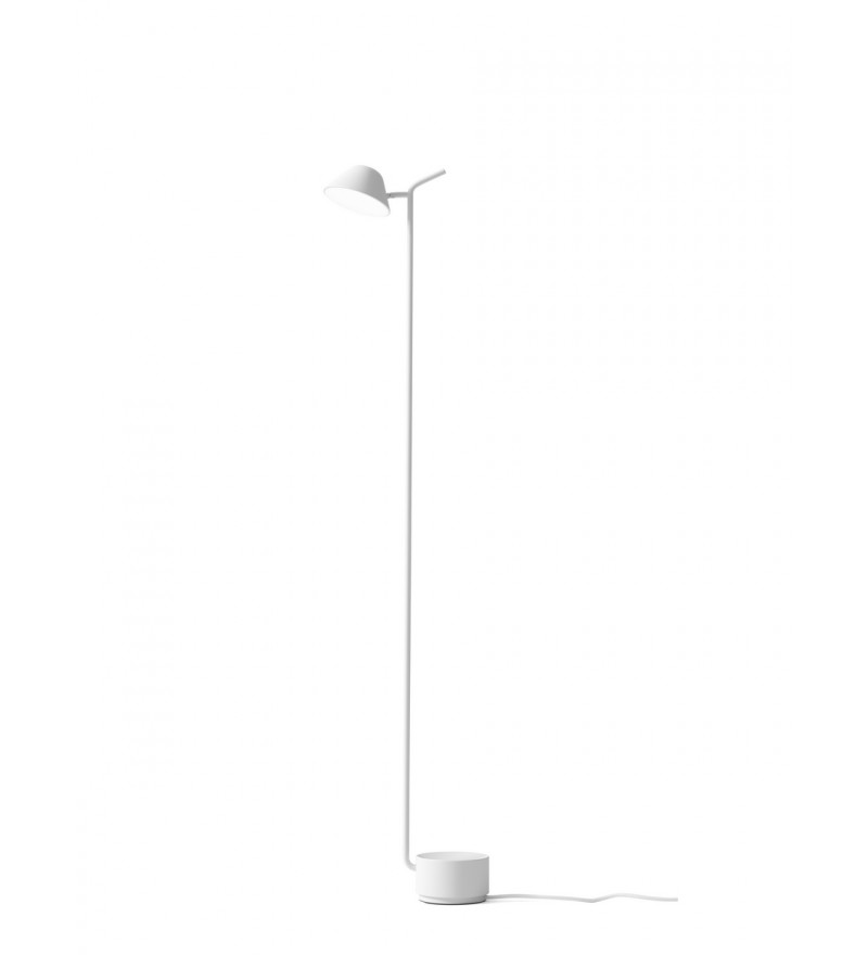 Lampa podłogowa Peek Menu - biała