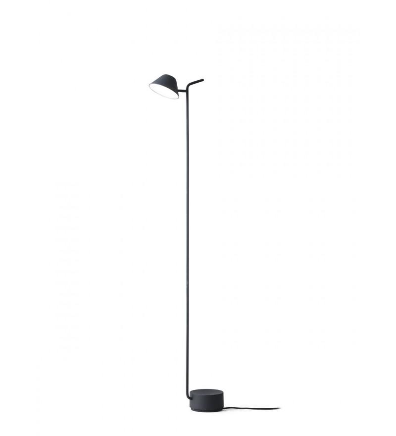 Lampa podłogowa Peek Menu - czarna