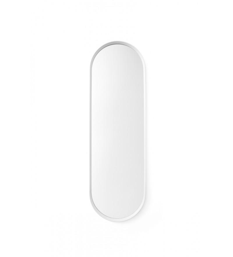 Lustro ścienne Norm Wall Oval Menu - białe