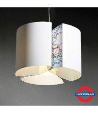 Lampa wisząca Cog Classic Underground od Blue Marmalade