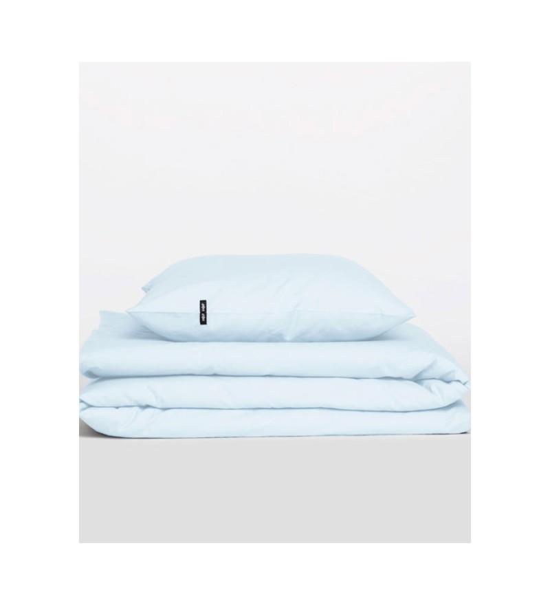 Poszwa na kołdrę Pure HOP DESIGN czysta bawełna płótno błękitne
