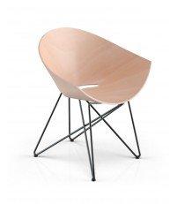 Fotel RM56 WOOD VZÓR - różne kolory nóżek